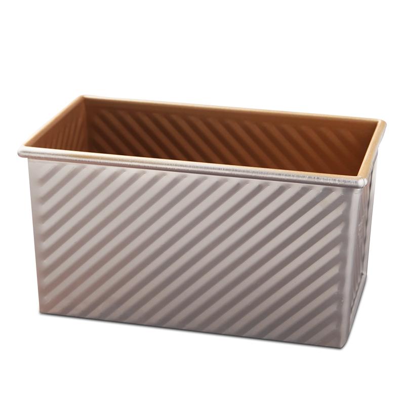 三能吐司模具烘焙工具土司盒烤箱用烤面包不沾带盖烘培家用450g
