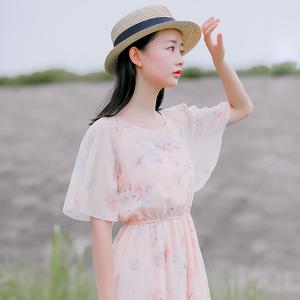 6424#【现货实拍】碎花连衣裙