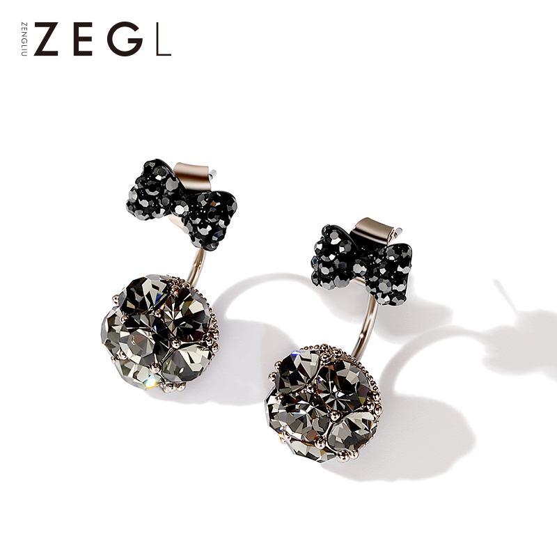earrings female temperament South Korea simple personality wild ...