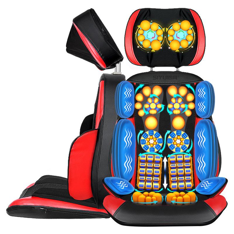 思育 SY-800B 多功能颈椎/腰部/肩部按摩垫
