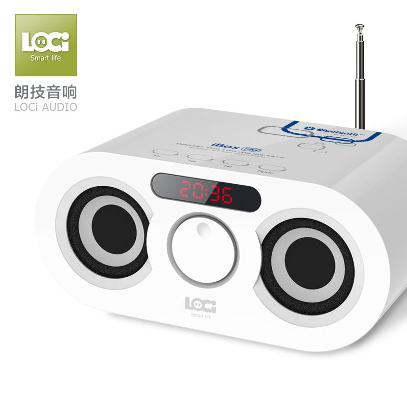 朗技 D68无线蓝牙音箱超重低音炮手机插卡家用音响儿童老人收音机