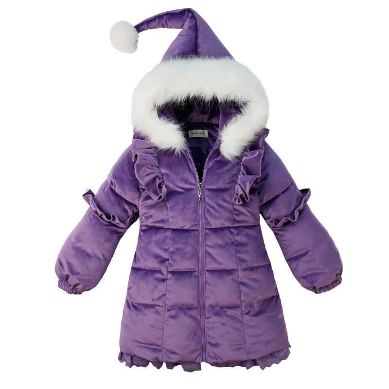 女童棉服2019新款棉袄冬装外套中大童女孩洋气网红韩版中长款棉衣