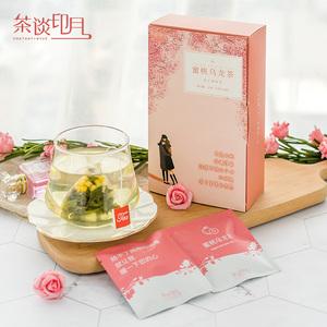 【无香精】白桃蜜桃乌龙茶水果茶日本三角茶包冷泡花果茶花茶组合