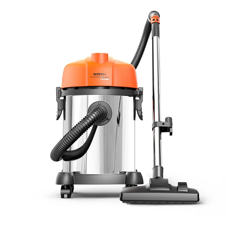 亿力家用除螨强力吸尘器小型工业吸尘机干湿静音大功率洗车店用
