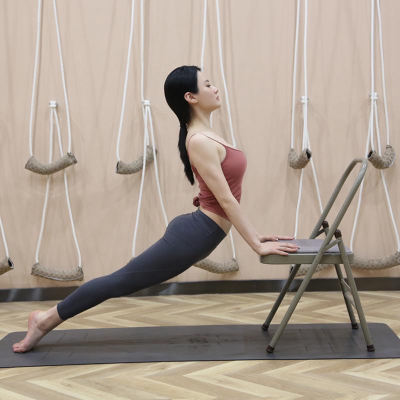 瑜伽辅助工具用品背部拉伸器材瑜伽椅子辅助椅拉筋凳家用山羊挺背