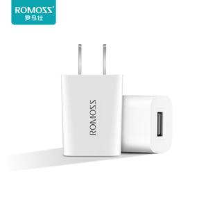 罗马仕正品苹果6S充电器快充数据线闪充2.1A充电头8快速7安全XS安卓适用于华为小米/vivo手机双USB口器XR插头
