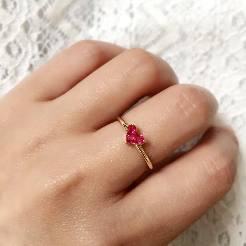 迷你金珠戒指编法