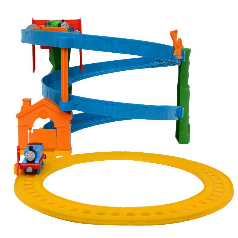 托马斯小火车套装轨道合金系列之旋转赛道BHR97早教儿童玩具礼物