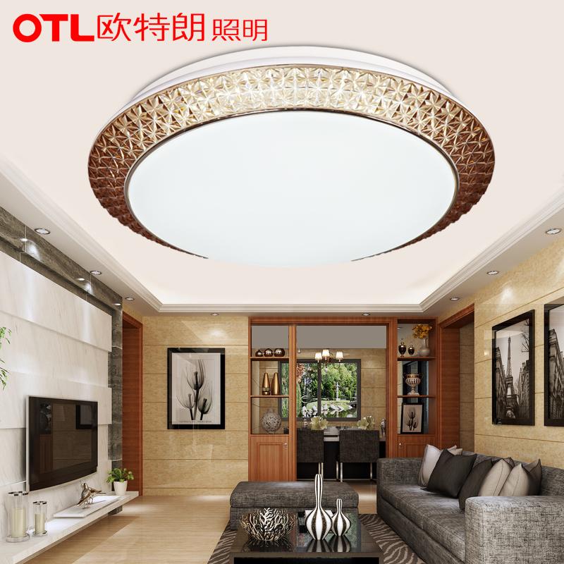 高清 欧特朗led吸顶灯房间灯现代简约浪漫奢华会议室客厅主卧室灯具图片