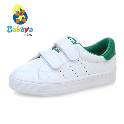 Barbie children's board shoes boy shoes casual shoes 2017 spring new girls white shoes baby shoes Korean version