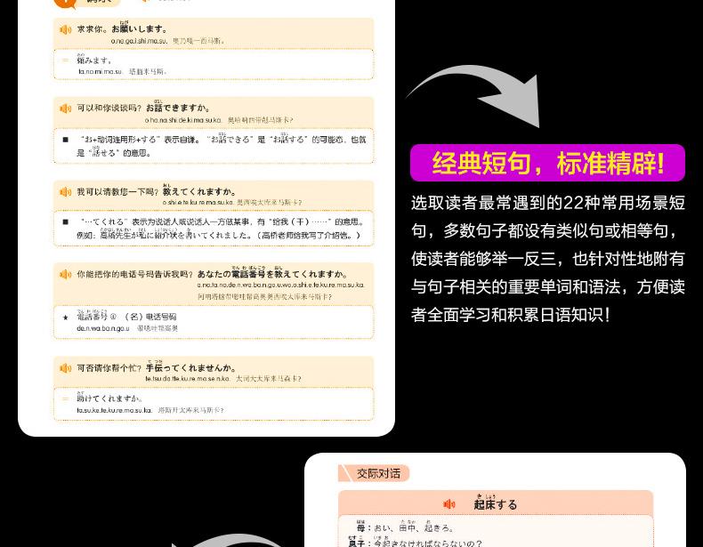 [包邮]【九块邮】日语入门自学教材零基础日语入门王新标准日本语学习