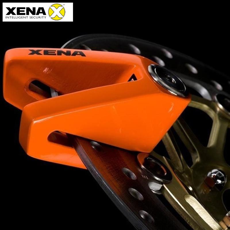 英国XENA摩托车车锁碟刹锁盘碟锁大排量重型机车防盗锁防撬电动车