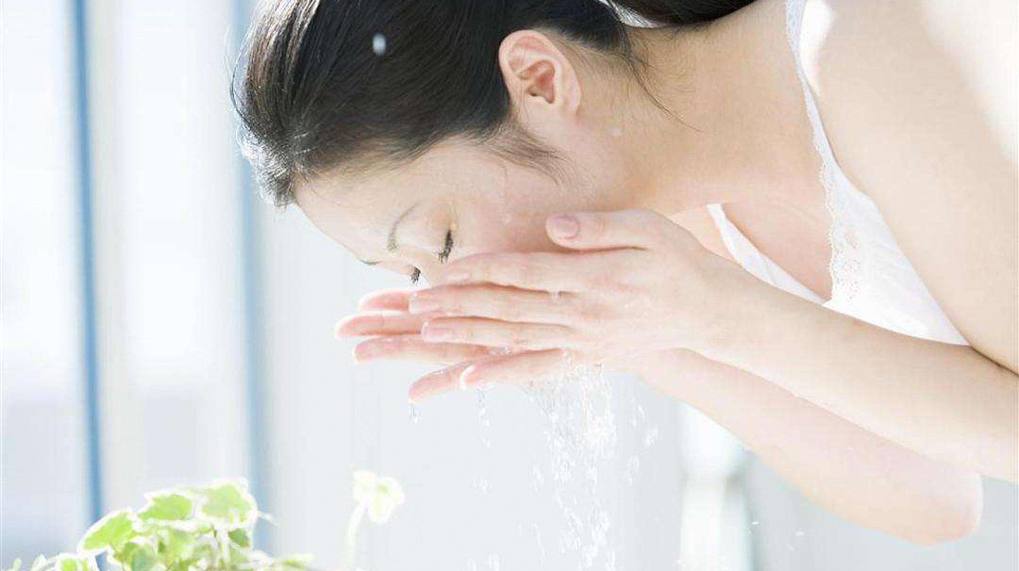 正确洗脸,这些误区你都中过吗