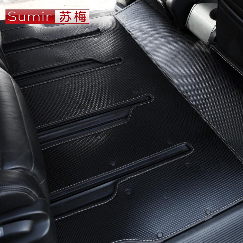 2016-17款艾力绅脚垫 奥德赛改装饰专用全大包围汽车丝圈双层脚垫