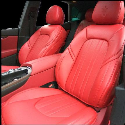 玛莎拉蒂坐垫ghibli Levante总裁吉博力专用3d真皮汽车座垫包安装