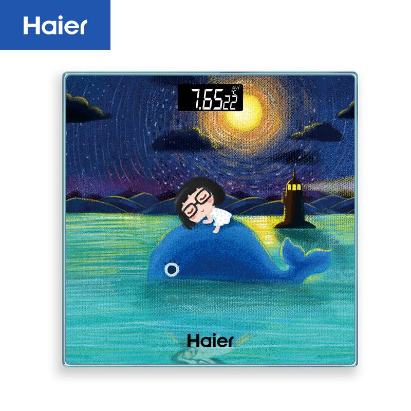 Электронные напольные весы   Haier