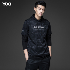 Full Zip Hooded Sweatshirt Yoa t3834