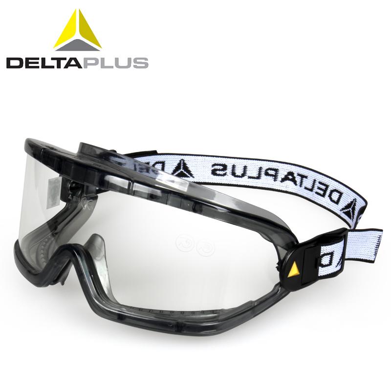 代尔塔护目镜防风沙尘工业打磨骑行防飞溅劳保防冲击眼罩防护眼镜