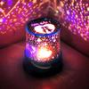 Creative dream romantic sky lights rotating starlight projector bedroom starry night sky led sleep night light