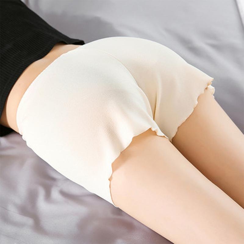 安全裤防走光女夏季冰丝薄款可内外穿大码保险裤高腰宽松打底短裤