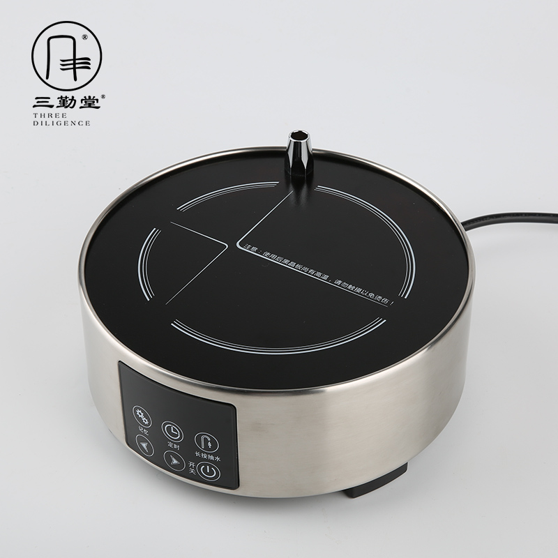 Three frequently hall electric TaoLu tea stove automatic pumping household iron POTS, glass silver plates boiled tea POTS S81001