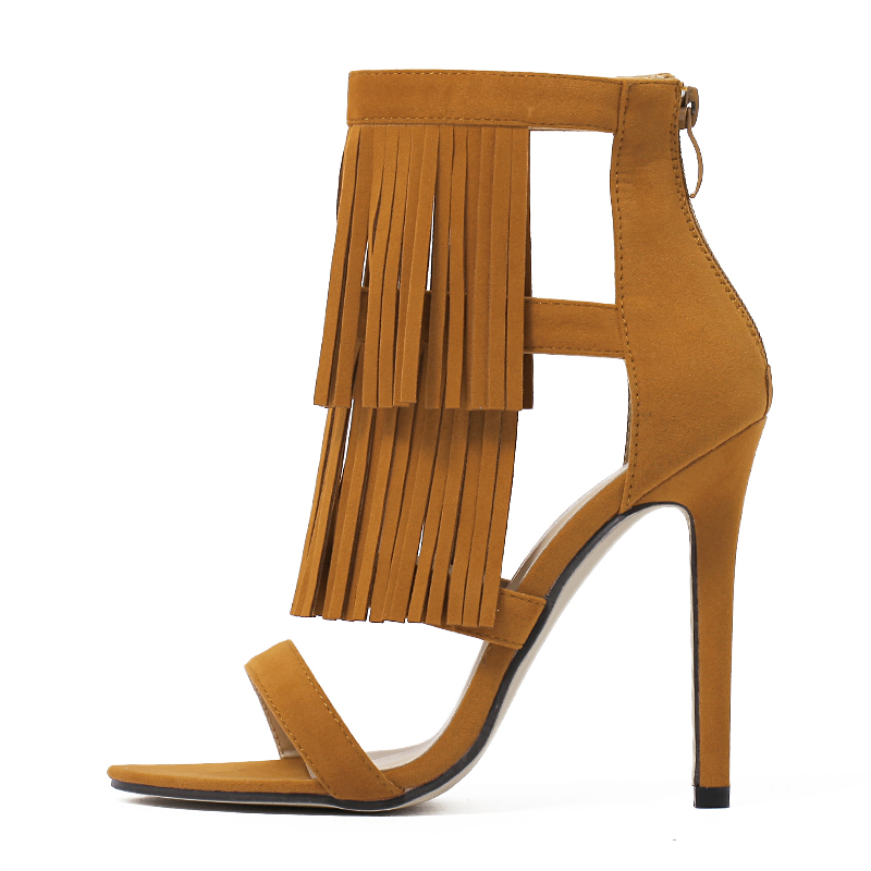 Roman retro style tassel sandals's main photo