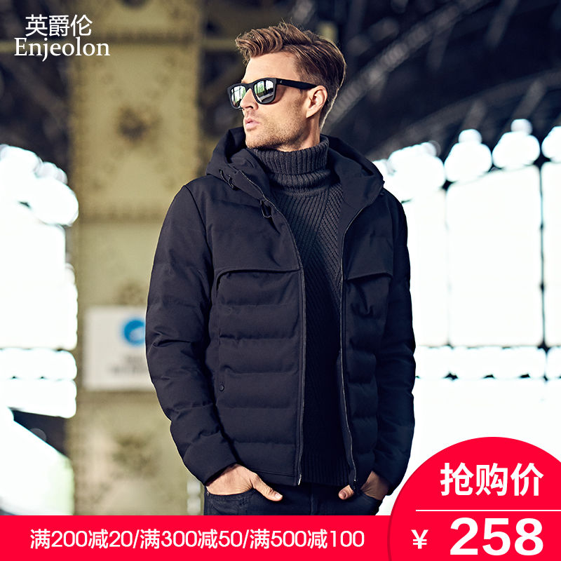 British Grand Canal 2018 New cotton winter padded warm cotton men's winter men's jacket jacket jacket winter