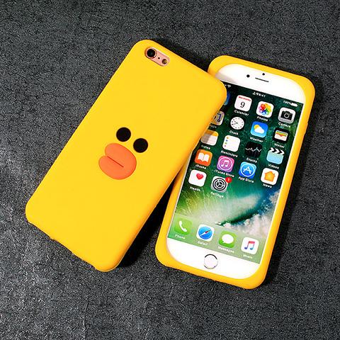 7plus手机壳苹果鸭子