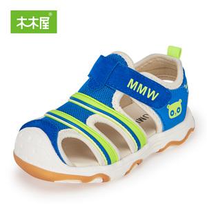 木木屋童鞋2018夏季新款儿童凉鞋 男女宝宝健康机能鞋耐磨沙滩鞋