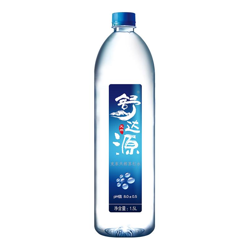 舒达源天然苏打水碱性水矿泉水10箱装可分3次发货
