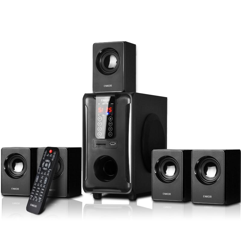 ENKOR H3811B 5.1多媒体音箱电视电脑蓝牙插卡音响家用功放低音炮