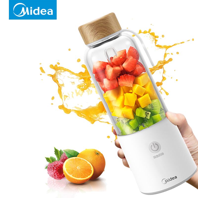 美的榨汁机便携式果汁机小型迷你多功能亚洲AG集团婴儿搅拌机随身杯正品