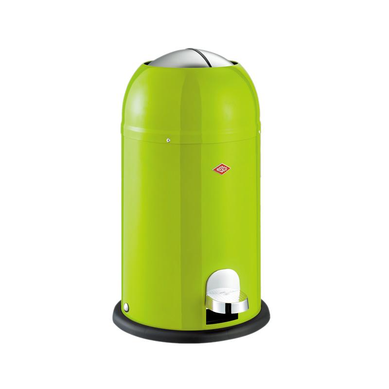 德国WESCO威士克骑士桶不锈钢垃圾桶脚踏创意垃圾筒欧式家用12升
