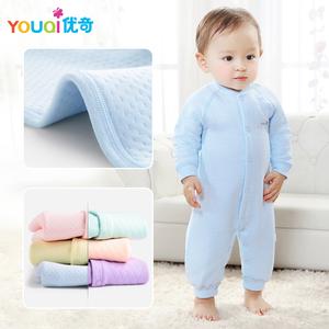 新生儿纯棉保暖连体衣衣