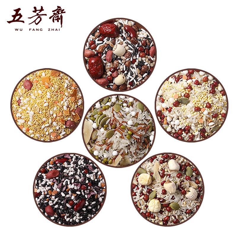 五芳斋 暖意粥 五谷杂粮养生粥组合 150g*6袋 双重优惠折后¥19.8包邮