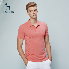 T-shirt Hazzys astze07be08 BANK HOLIDAY POLO