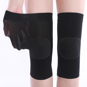 护膝保暖老寒腿夏季男女无痕运动护具篮球跑步薄款空调房透气护漆