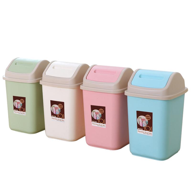 脚踏式垃圾桶家用摇盖带盖大号客厅厨房厕所卫生间8-14L垃圾筒