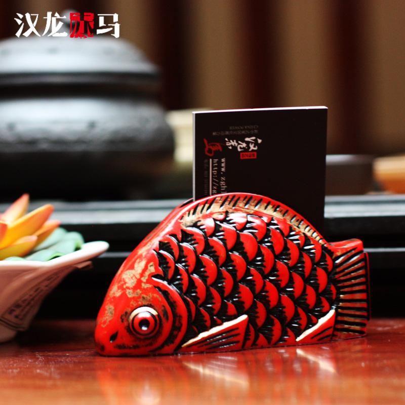 汉龙赤马新中式风格民间工艺品TB_00213