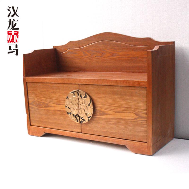 汉龙赤马新中式储物柜J201