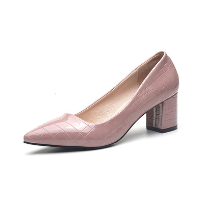 Smooth pearl lacquered leather shoes's main photo