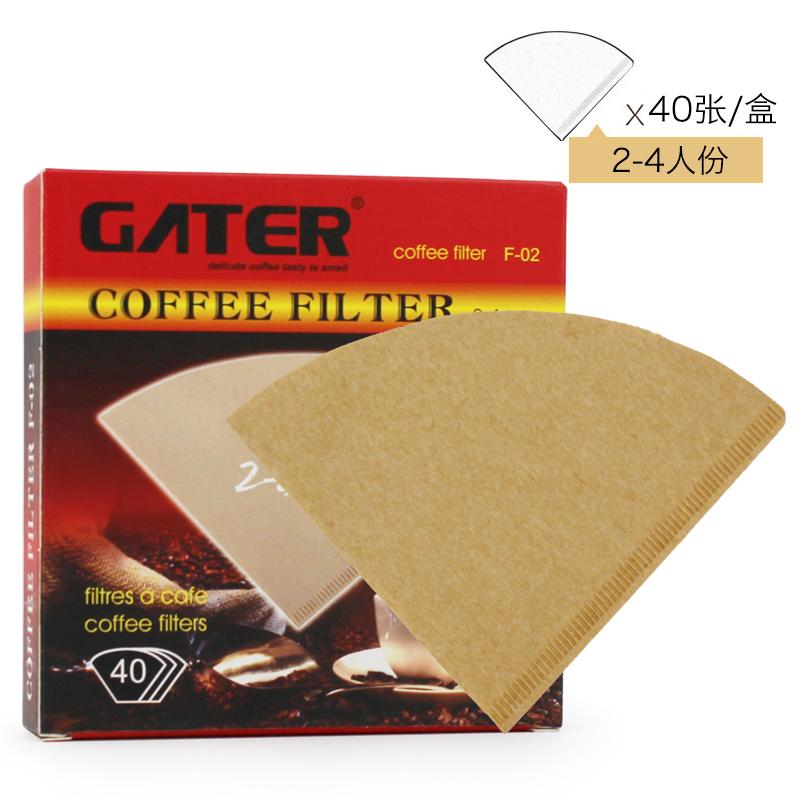 啡忆 咖啡滤纸 滴漏式手冲咖啡过滤纸 V60美式咖啡机咖啡壶过滤纸