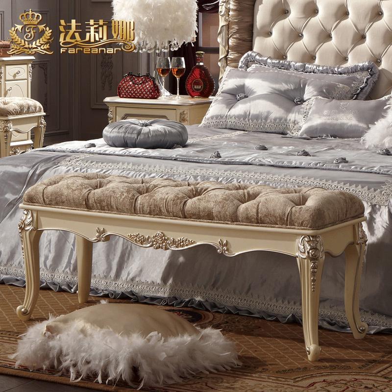 法莉娜法式家具床尾凳h39