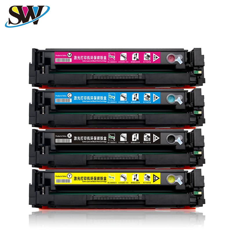 适用惠普m277dw cf400a硒鼓易加粉LaserJet Pro m252n硒鼓201激光打印机硒鼓 252dw hp277dw彩色硒鼓带芯片