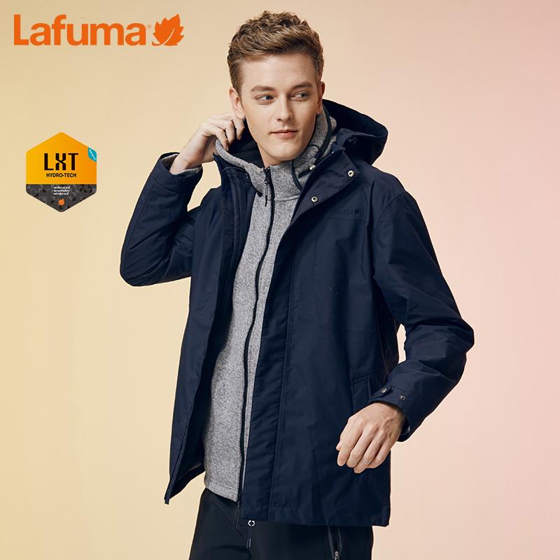 法国LAFUMA乐飞叶男士户外登山徒步旅行防风防水冲锋衣LMJA7CC31