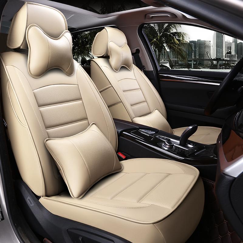 全真皮汽车座套全包围定做18新款专车专用座椅套四季通用坐垫套