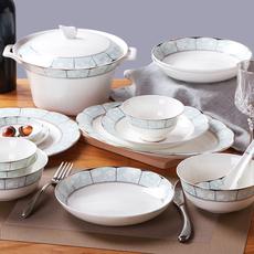 Набор фарфоровой посуды Ink color (home)