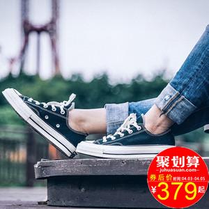匡威1970s帆布鞋男鞋女鞋ALL Star三星标情侣低帮休闲板鞋162058