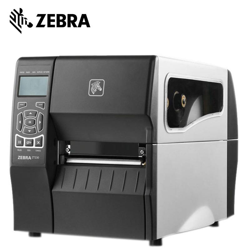 ZEBRA斑马ZT210-ZT230条形码打印机工业不干胶标签贴纸唛头标签机