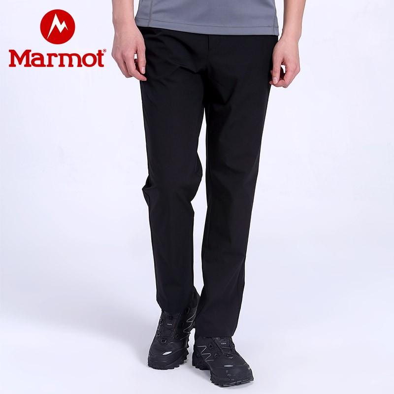 Marmot 土拨鼠 新款 户外透气速干 男式长裤  H68317 天猫优惠券折后¥279包邮(¥499-220)2色可选